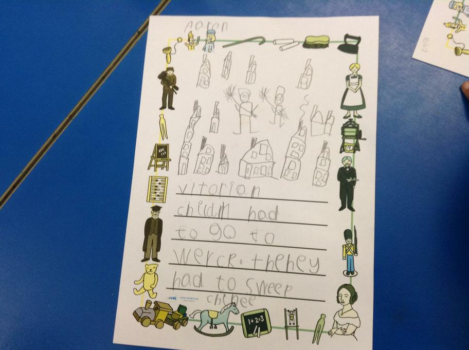 Writing by Aaron and pictures of victorian houses