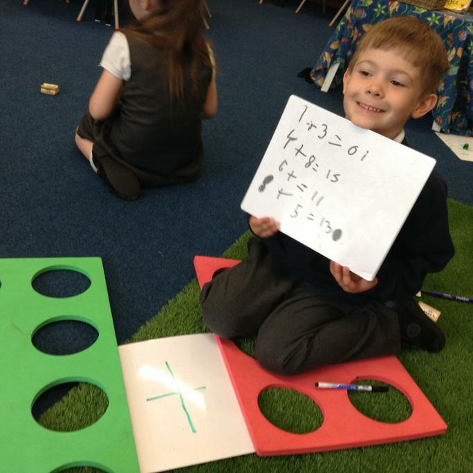 Lucas show his number sentences