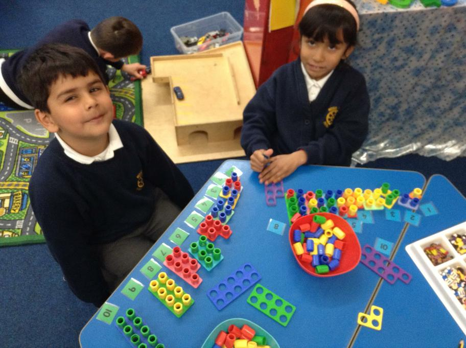 we can order, count & recognise numbers to 10