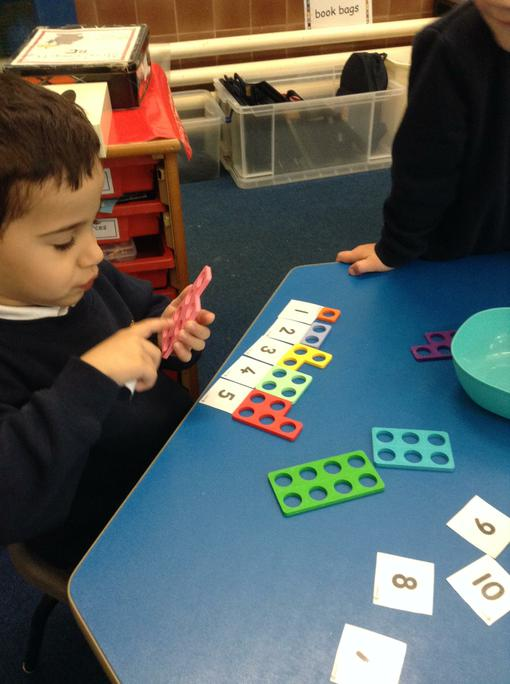 Yakoub counts and orders the numicon