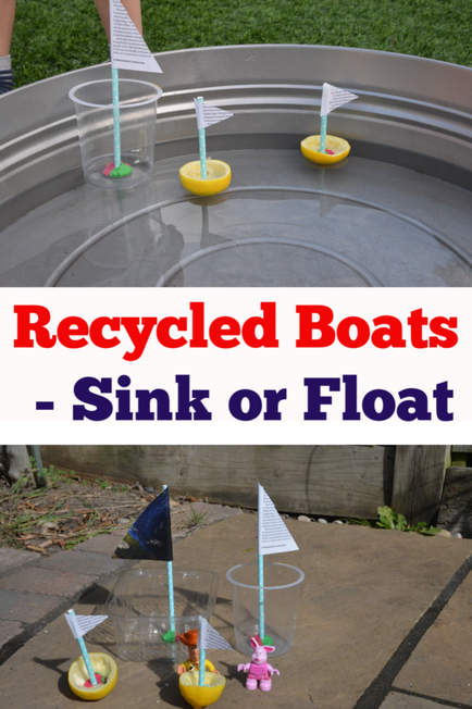 Can you make a boat and see if it sinks or floats?