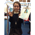 Hannah's own Talking Stick and story writing