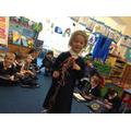 Arabell tells her story ;Arabella's Stick'