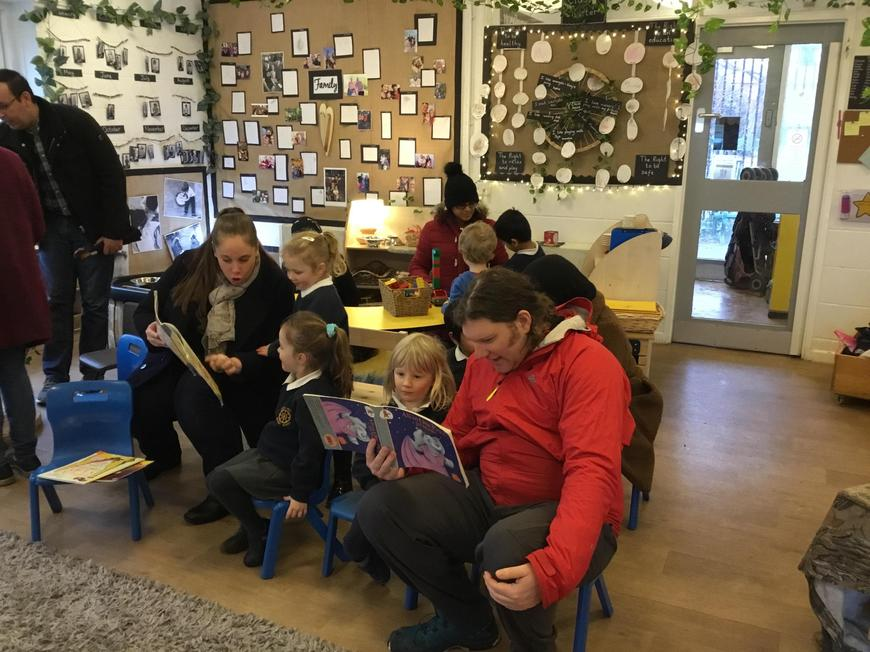 Reading with parents