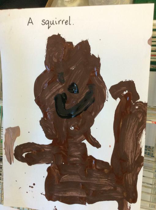 Oscar's squirrel