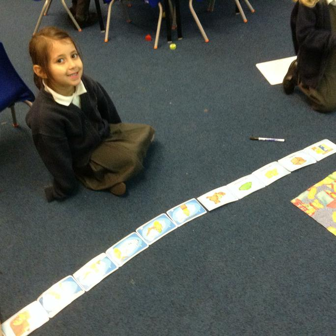 Sequencing the story not an easy job to do!
