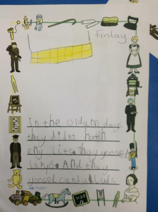 Finlay's independent writing