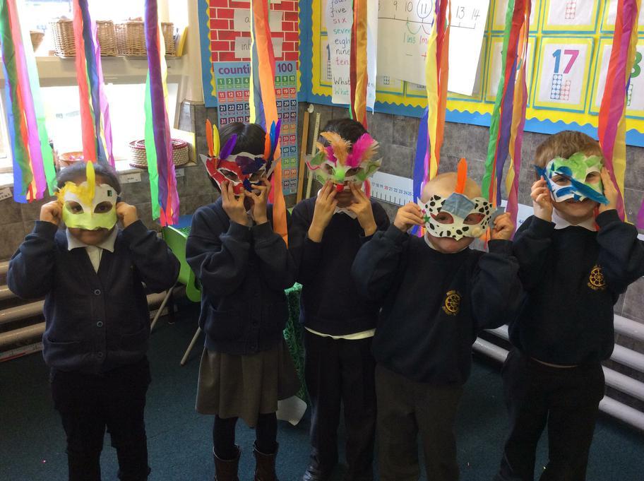 Lokk at our masks