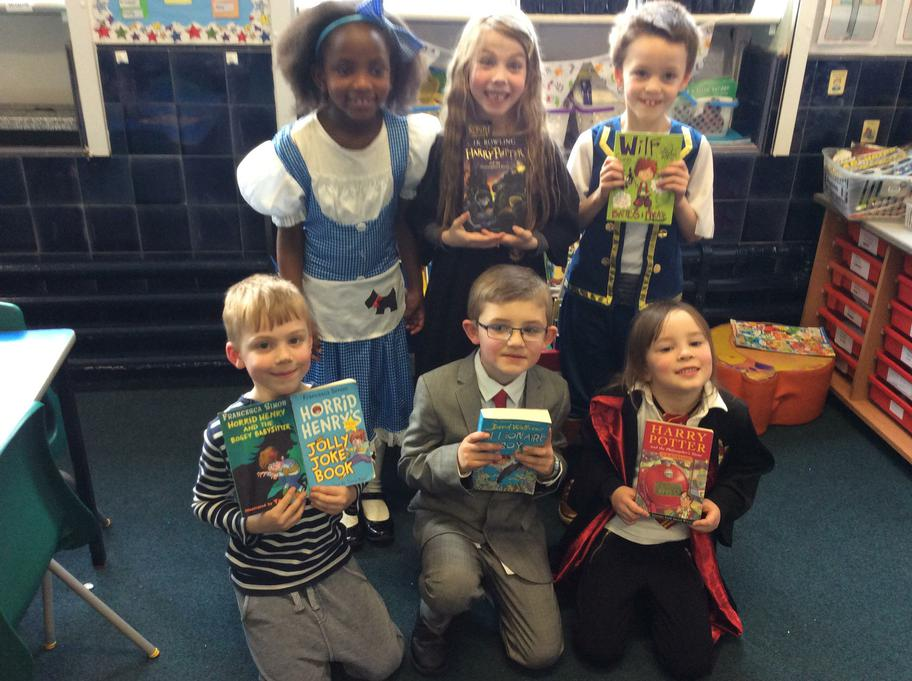 We shared our favourite books.
