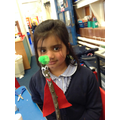 Hijaab's Superhero Stick