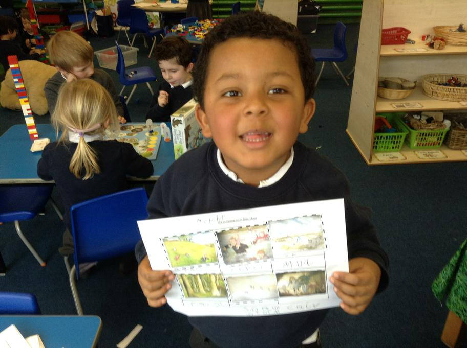 Sequencing the story