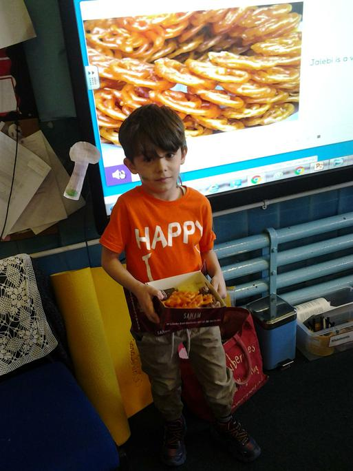 Thank you K'Ayub for the delicious Indian sweets.
