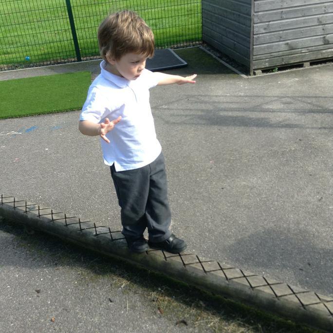 Luca balancing!