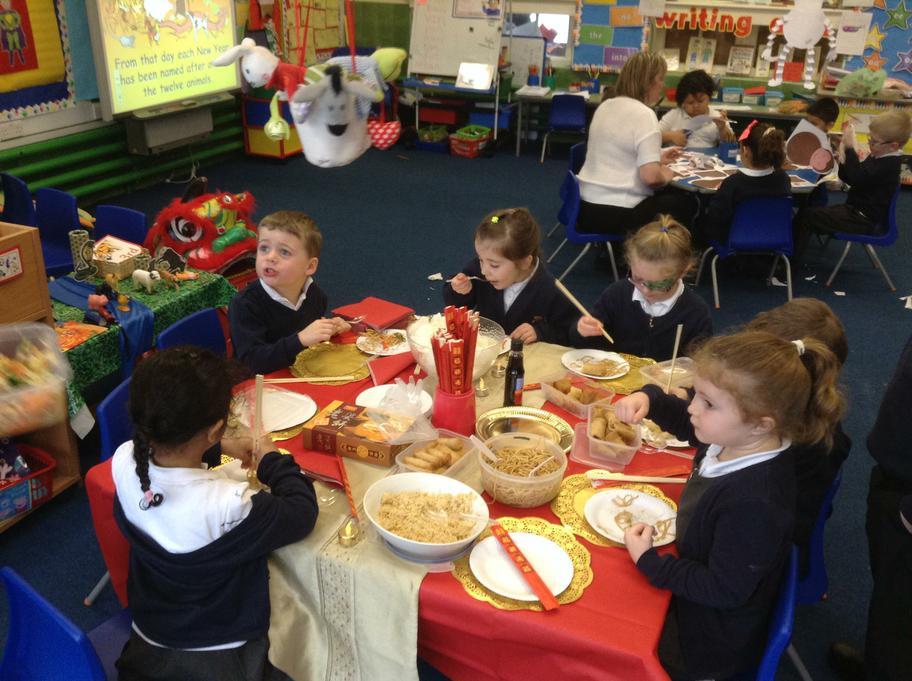 We really enjoyed Celebrating Chinese New Year