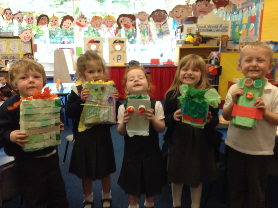 Look at our fabulous monsters!