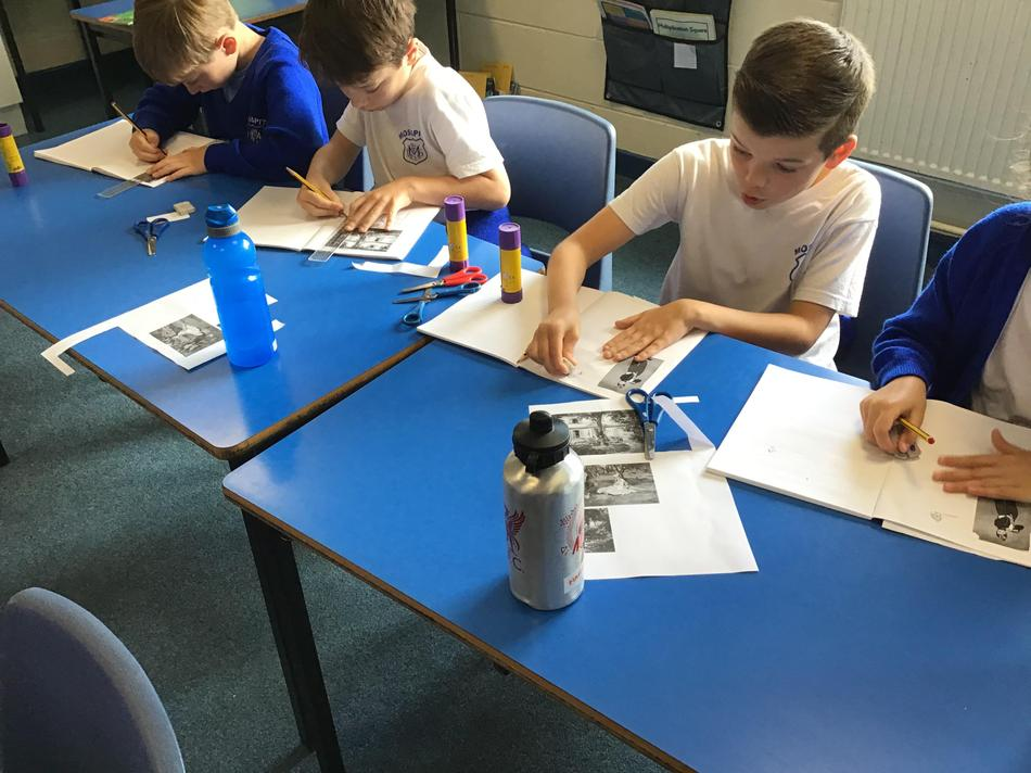 Here we are copying his work.