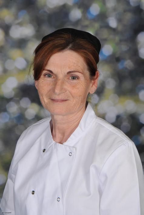 Miss Ann King: Catering assistant & Cleaner