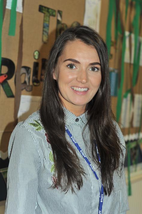Miss K Brown - Y3 teacher & PE lead