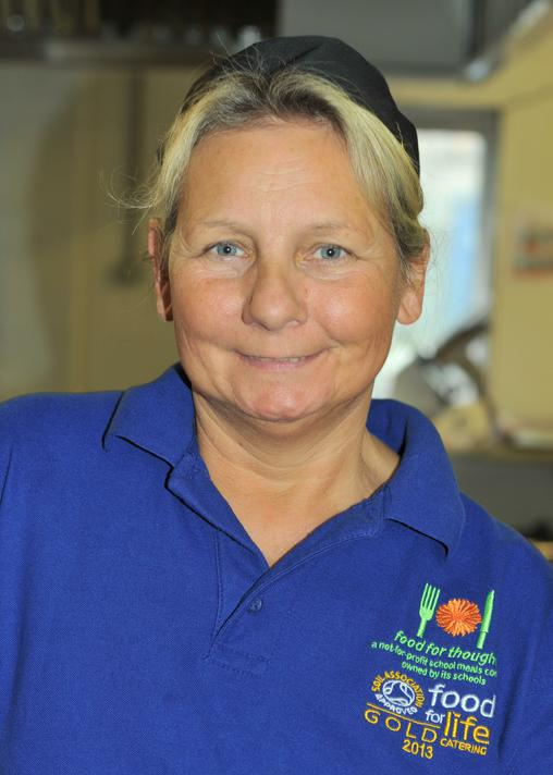 Mrs M Lowe: Catering assistant & Playworker