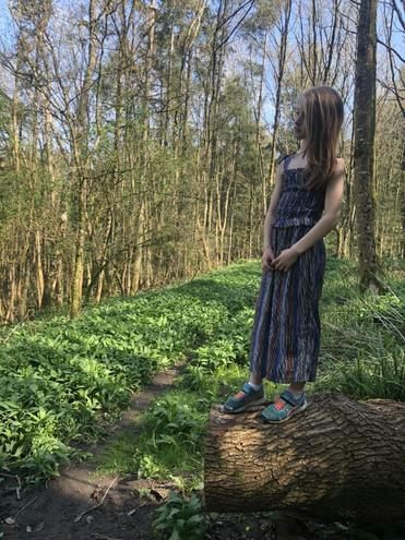 Claudia in Kingsettle woods
