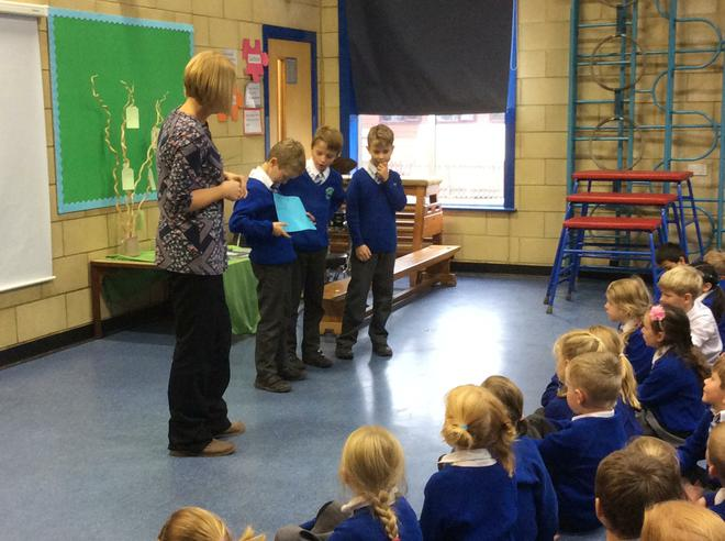 Explaining how they can be recorded with symbols.