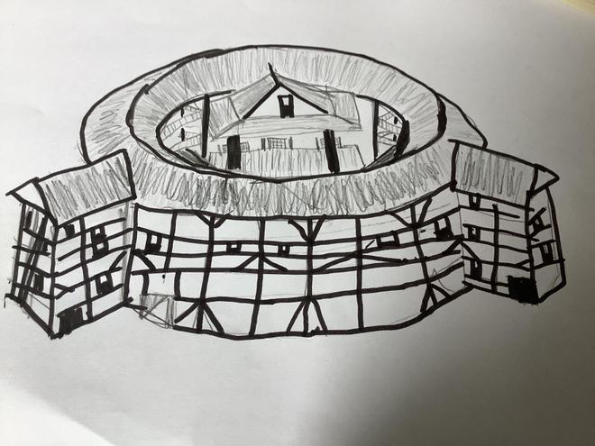 Logan's Globe sketch