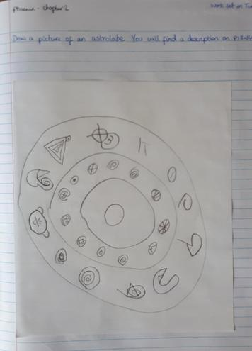 Toby's image of an Astrolabe