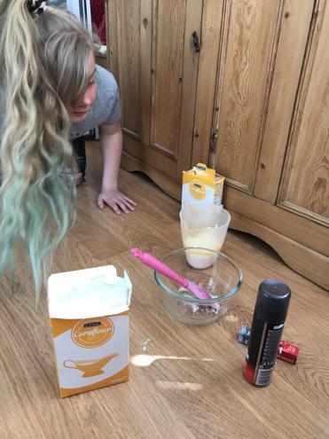 Bethany's experiment
