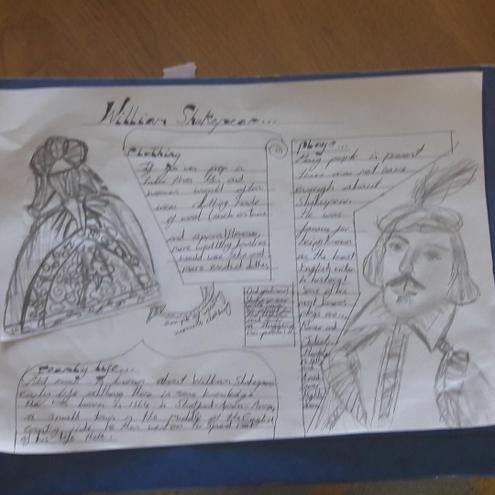 Ava's Shakespeare poster