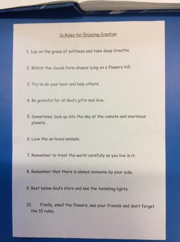Our class poem!