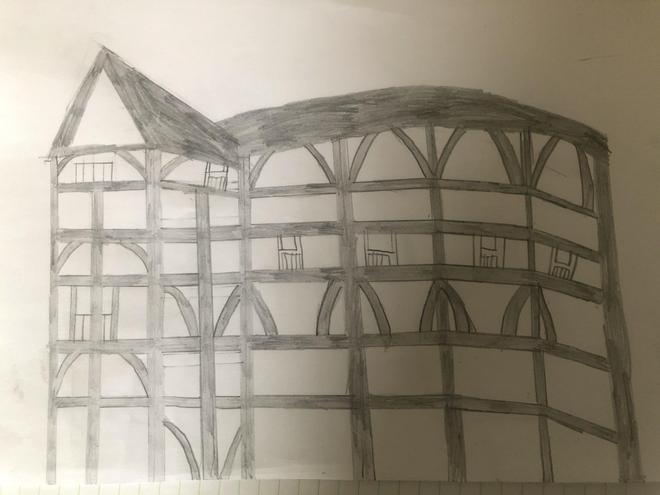 Henry's Globe sketch