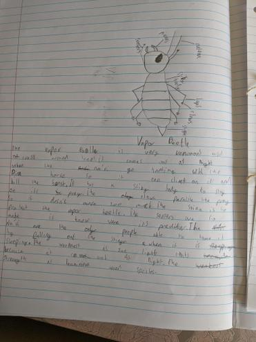 Another Pandorean insect by Harry!