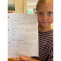Megs' letter