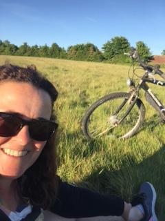 A late evening bike ride!