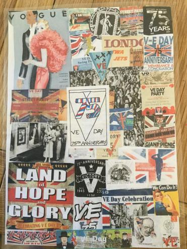 Phoebe S VE day poster
