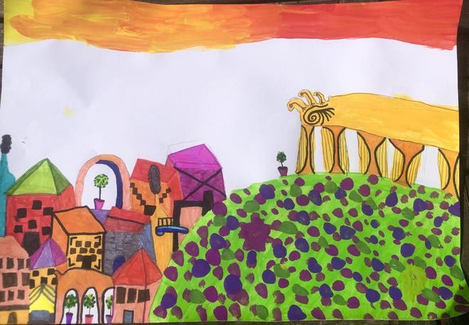 Claudia's painting