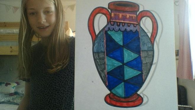 Claudia's Greek Vase