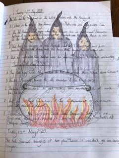 Mia's Macbeth work
