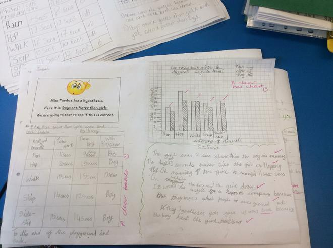 Statements to show our understanding of the data.