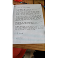 Chloe's letters
