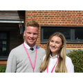 Jack and Annabel, Head Boy and Head Girl at MHS Sixth Form