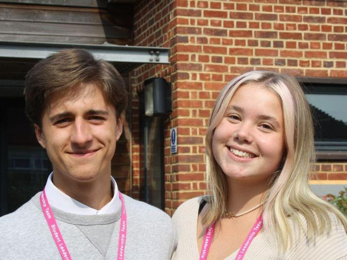 Kieran and Elsie, Cultural Communications Officers