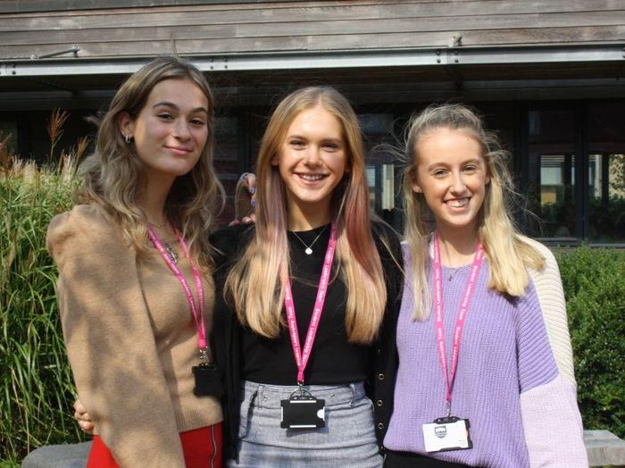 Ellie, Pippa and Naomi, Student Support Co-ordinators