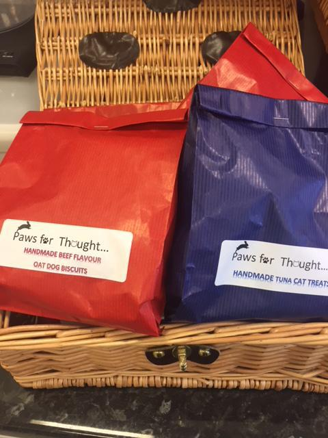 Our dog and cat treats cost just £2.50 per bag