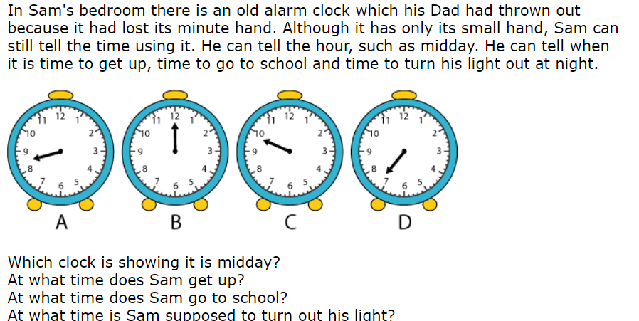 Missing minute hand problem. Make sure you write AM or PM!
