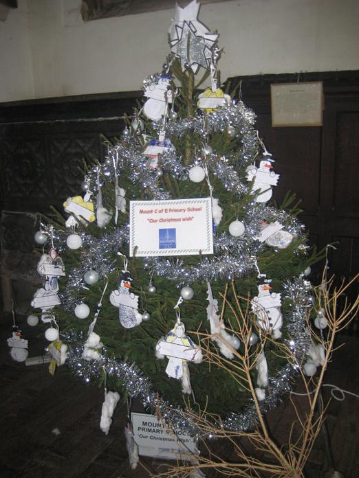 Our Mount C of E Primary School tree