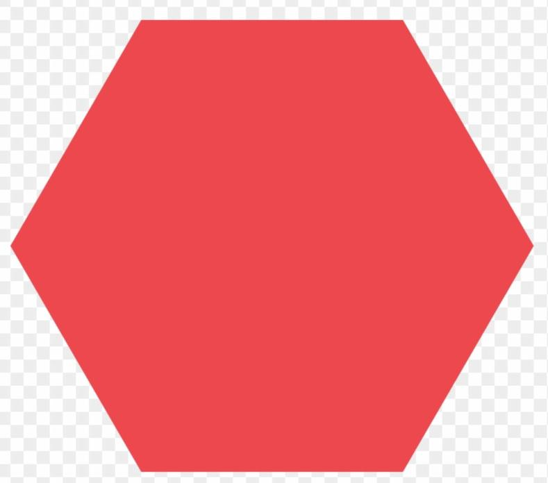 Hexagon - 6 sides