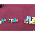Sorting different vehicles.