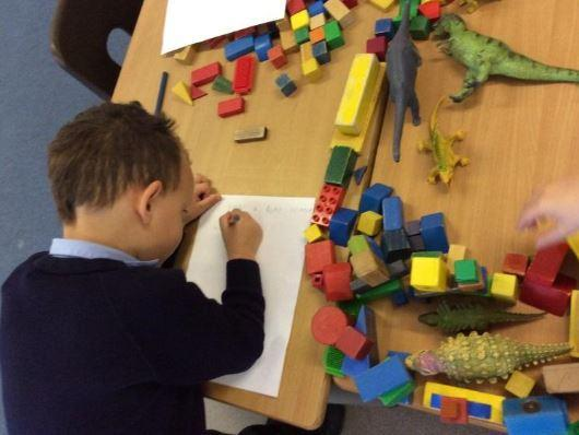 Emergent writing in continuous provision