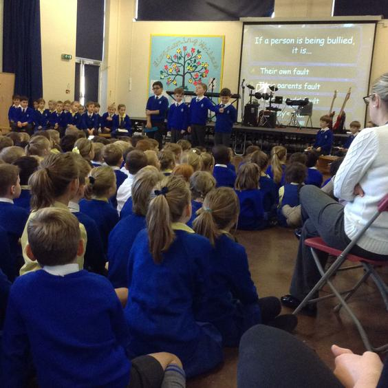 Fantastic Anti Bullying assembly from 3N